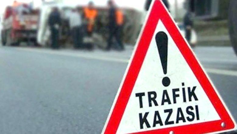 Trafik kazası: dört yaralı