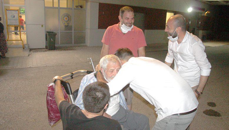 Kaybolan alzheimer hastasından iyi haber