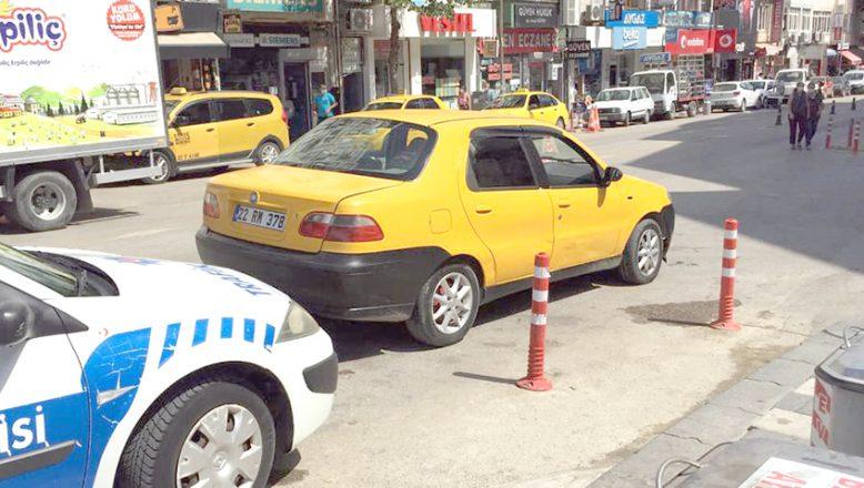 Korsan taksi koronavirüs denetimine takıldı