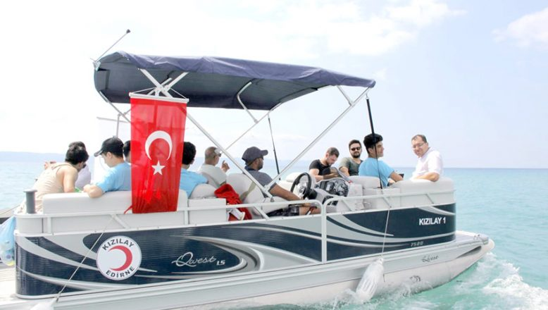 Uluslararası öğrencilere Saros Körfezi'nin doğal güzellikleri tanıtıldı