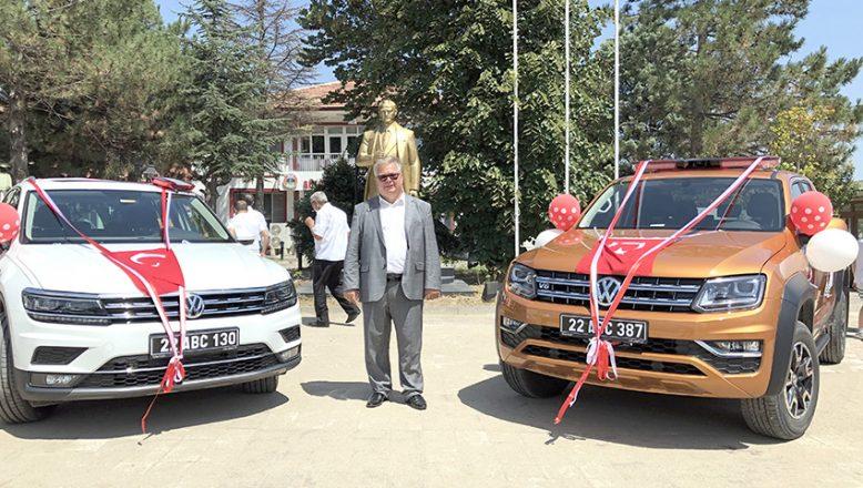 Süloğlu Belediyesi'ne AB'den hibe araç