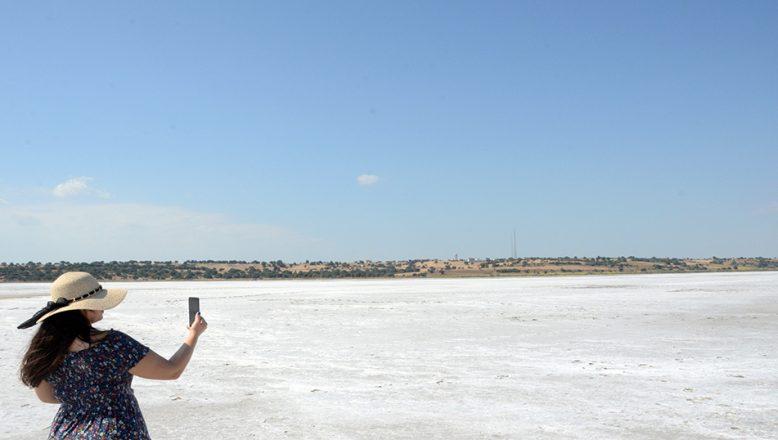 Bu da Edirne'nin Tuz Gölü
