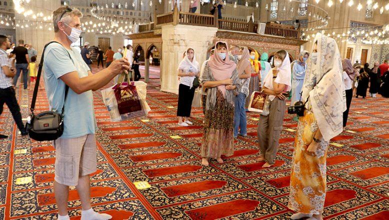 Ukraynalı turizmcilere Edirne tanıtımı