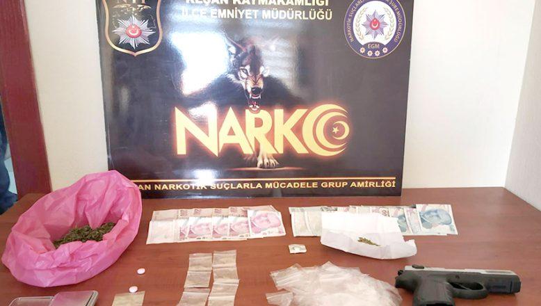Uyuşturucu operasyonunda 7 şüpheli yakalandı