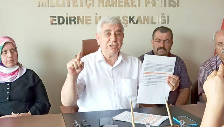MHP'li Tercan özür diledi