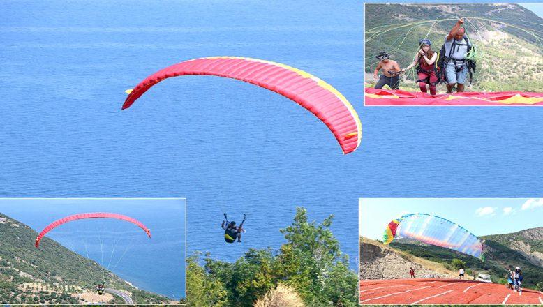 Uçmakdere, bayramda 'adrenalin tutkunları'nı ağırlıyor
