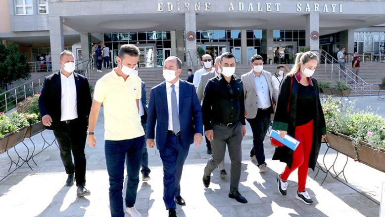 Belediye Başkanı Gürkan'ın yargılandığı dava başladı