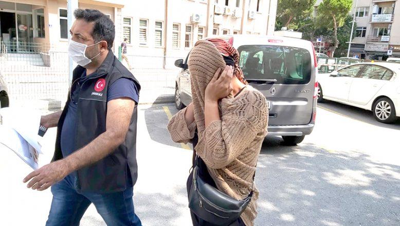 Temizlik için gittiği evden 10 bin 400 avro çalan kadın yakalandı