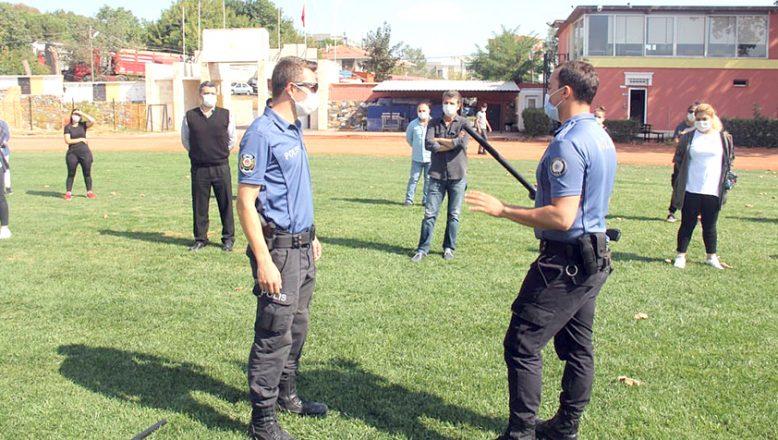 Polis, özel güvenlik görevlilerine eğitim verdi