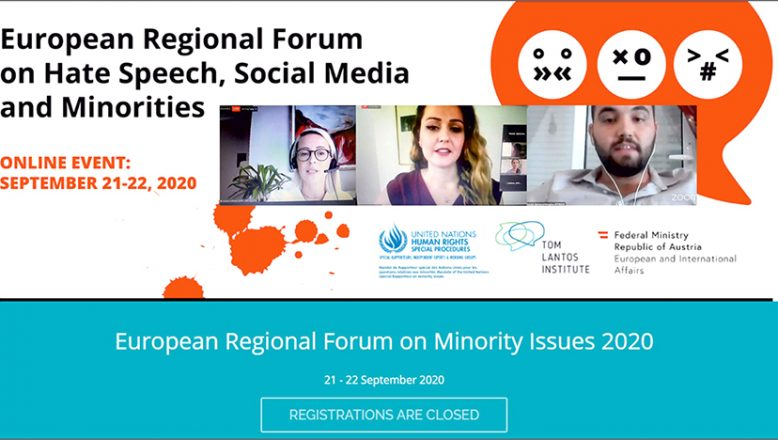 Avrupa Azınlık Sorunları Bölgesel Forumu'na katıldılar