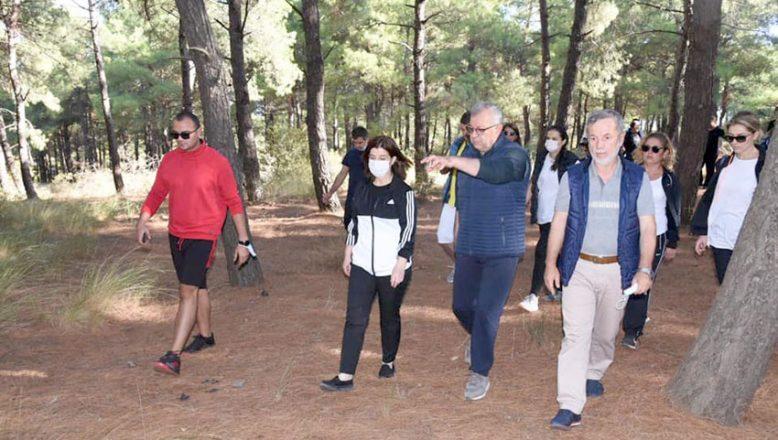 Aksal, Keşan Millet Bahçesi proje alanını inceledi