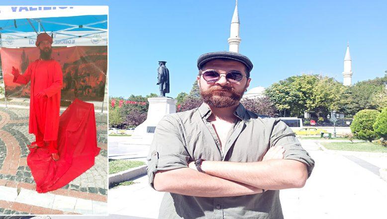 """""""Edirne'de sanat kuraklığı yaşanıyor"""""""
