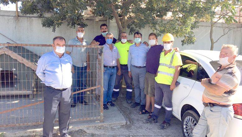 Gaytancıoğlu'ndan işçilere destek