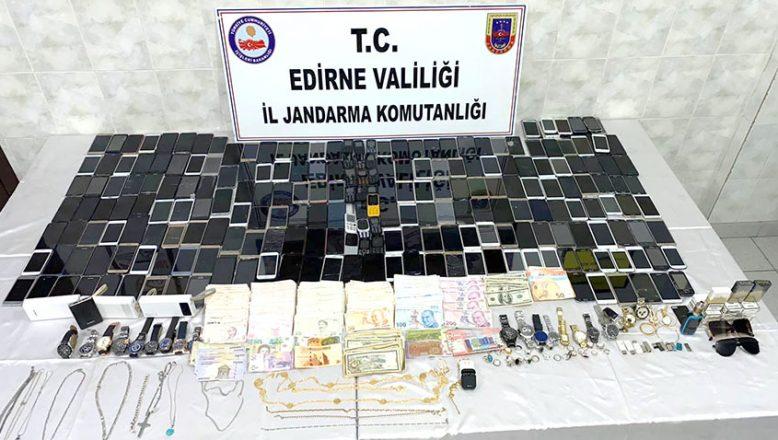 Sınır gaspçıları yakalandı