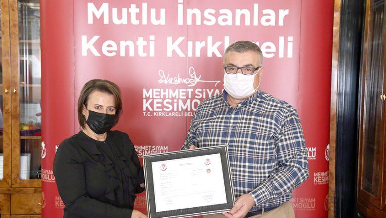 """Kırklareli'nin """"Nebahat Ablası"""" izin belgesini aldı"""