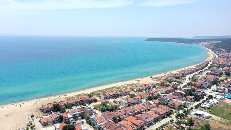 Saros'da turizm hareketliliği devam ediyor