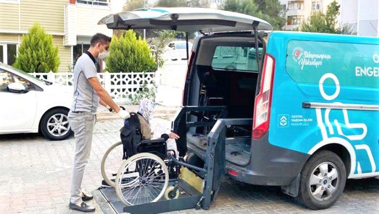 'Engelsiz Taksilerle' ulaşımda engeller kalkıyor