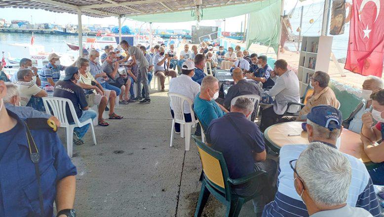 Balıkçılar bilgilendirildi