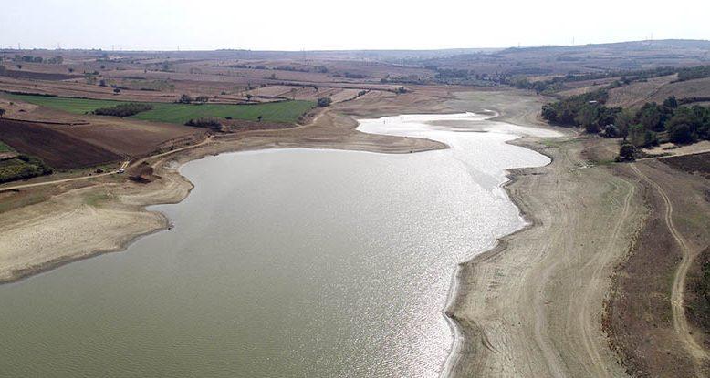 Bıyıkali Göleti'nden sulama durduruldu