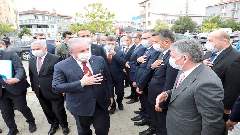 """""""Biz Türkiye olarak adil bir paylaşım, adil kararlar, adil davranışlar istiyoruz"""""""