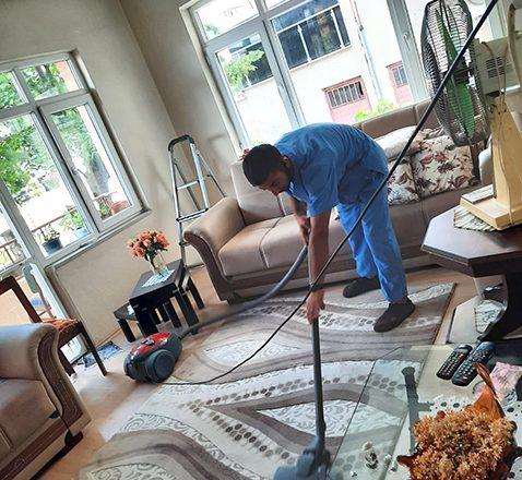 COVID-19'a karşı, ihtiyaç sahibi vatandaşların evleri temizleniyor