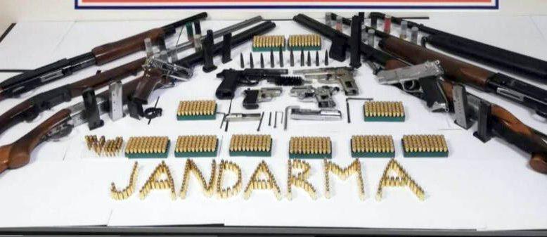 Ruhsatsız tabanca operasyonu