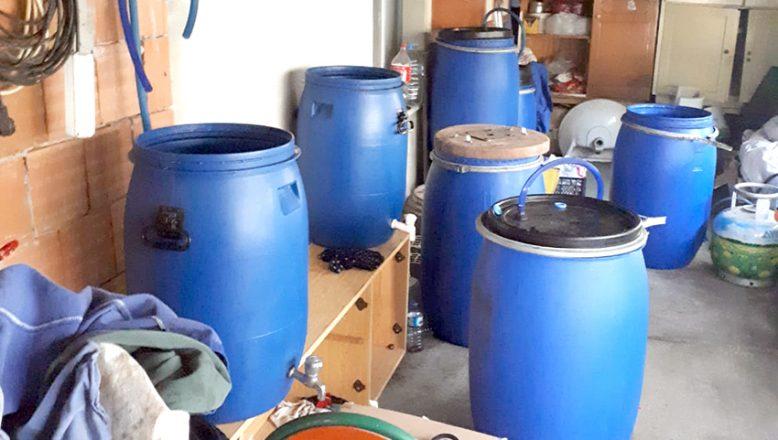 500 litre kaçak içki ele geçirildi