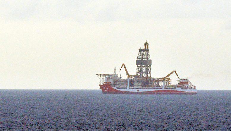 """""""Kanuni"""" gemisi, Çanakkale açıklarına ulaştı"""