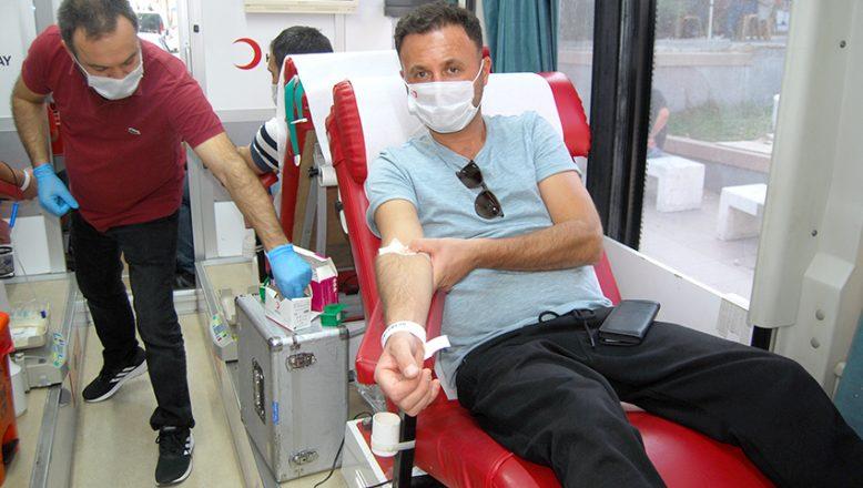Kan Bağış Kampanyası düzenlendi