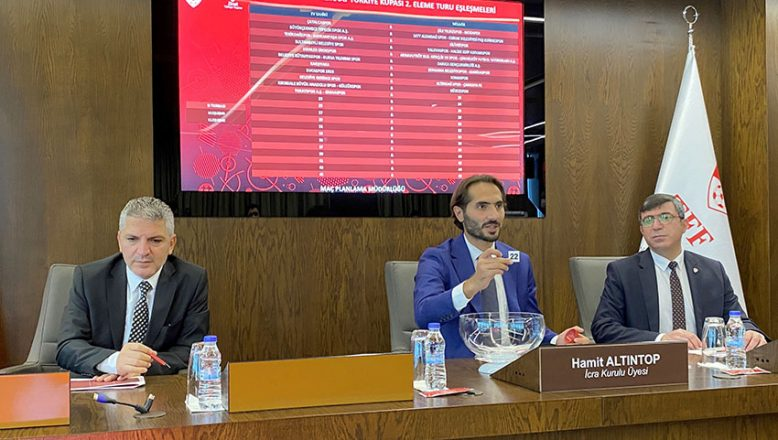 Ziraat Türkiye Kupası'nda 1'inci ve 2'nci eleme turu kuraları çekildi