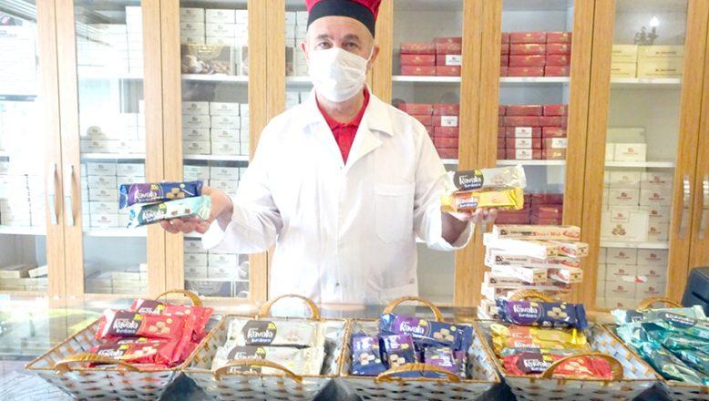 Edirne'nin tatları artık marketlerde