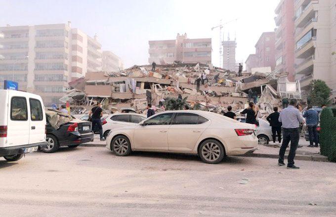 Şiddetli deprem Edirne'de de hissedildi