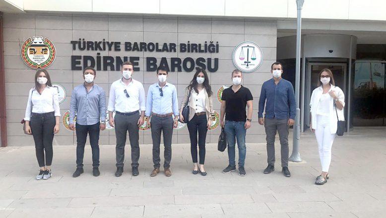Genç avukatlar seçim yaptı