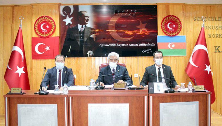 Meclis'ten Azerbaycan'a destek