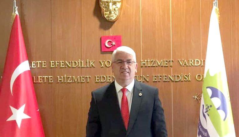 Testi pozitif çıkan başkan İstanbul'a sevk edildi