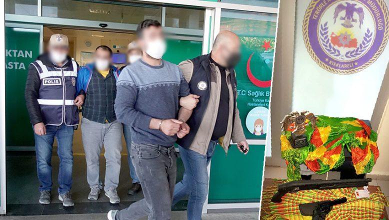 PKK operasyonunda 5 zanlı yakalandı
