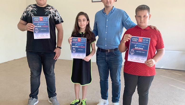 Konservatuvarı öğrencilerine ödül yağdı