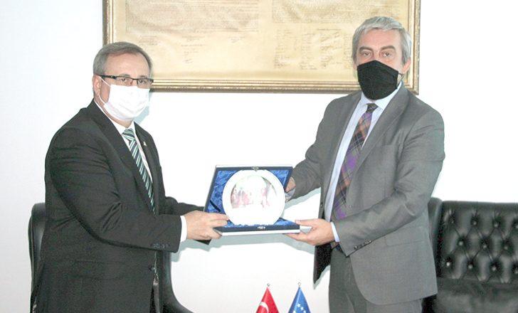 Kosovalı Bakan Trakya Üniversitesi heyetini ağırladı