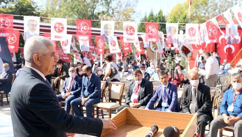 MHP'de İl Başkanı Tercan güven tazeledi