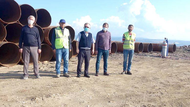 Gelibolu Feribot Terminal inşaatı sürüyor