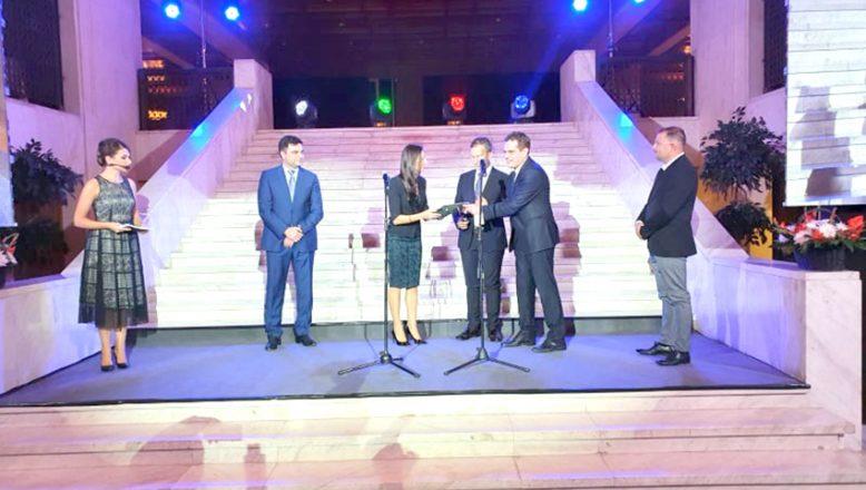 Büyük yatırımlar yapılan belediyelere ödül verildi