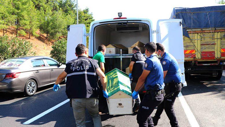 Kazadan sonra kalp krizi geçiren sürücü öldü