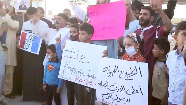 Libya'dan, Fransa'ya tepki ve boykot çağrısı