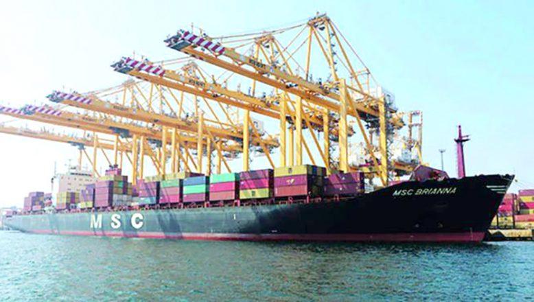 Asyaport'ta, en yüksek konteyner hareketi yapıldı