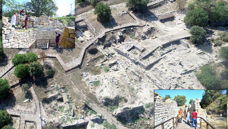 """Kültür turizminin gözde adresi, """"Troya"""""""