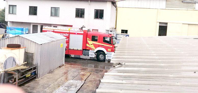 Fabrikada meydana gelen patlamada üç işçi yaralandı