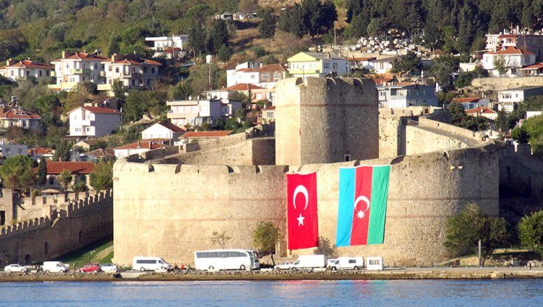 Tarihi Gelibolu Yarımadası'ndan, Azerbaycan'a destek