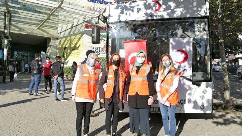KADEM'den, kan ve plazma bağışı kampanyasına destek