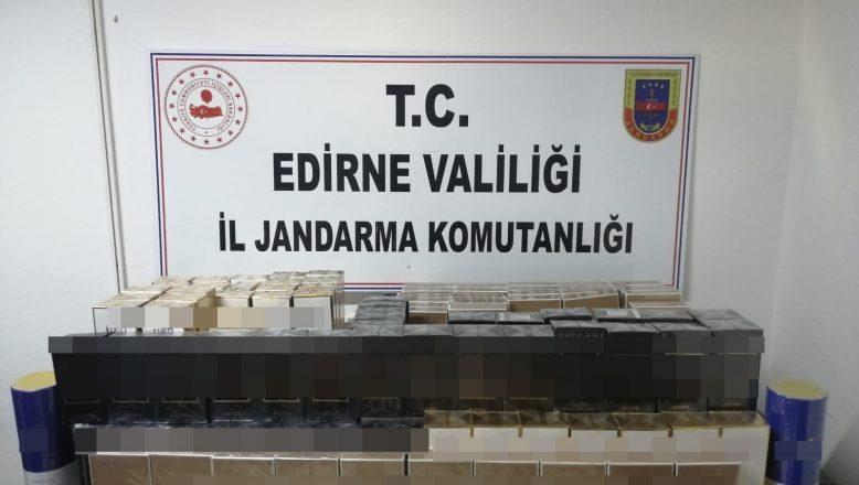 690 kutu kaçak parfüm yakalandı