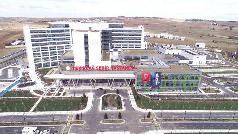 Tekirdağ Şehir Hastanesi yarın açılıyor